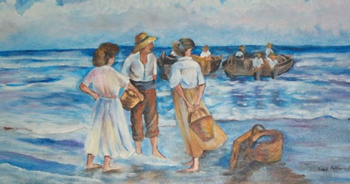 Aguardando os pescadores
