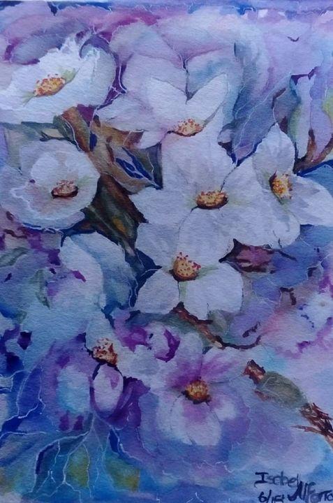 Flores da amoreira