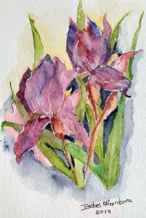 Lírio lilás